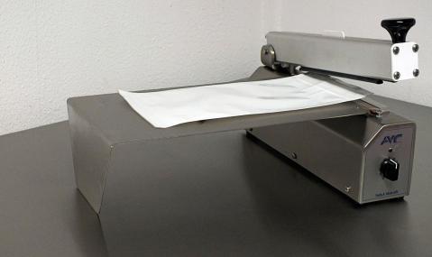 zgrzewarka stołowa ze stali nierdzewnej